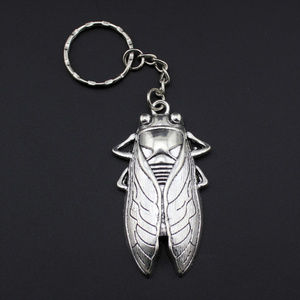 Other - New Cicada Insect Silver Tone Keychain